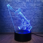 3D Светильник Fortnite SCAR