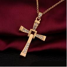 Крест Доминика Торетто Золото