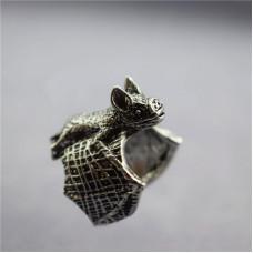 Кольцо Летучая мышь