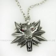 Кулон Ведьмак Школа Волка