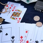 Карты для покера 100% Пластик