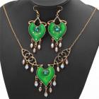 Ожерелье и серьги Жасмин