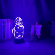 3D Лампа Among Us 2