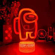 3D Лампа Among Us