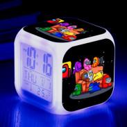 Часы будильник Among Us