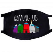 Защитная маска Among Us