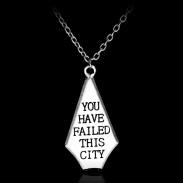 Кулон Ты подвел этот город