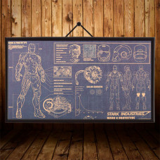 Постер Ironman Mark 6