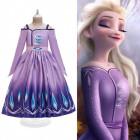 Фиолетовое платье Эльзы