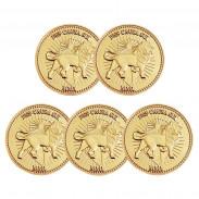 Набор золотых монет Континенталь