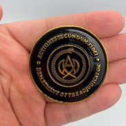 Медальон монета Судьи Adjudicator