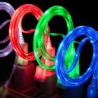 LED кабель Энерджи для iPhone/iPod/iPad