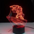 3D Лампа Мандалорец и Дитя