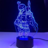 3D Лампа Мандалорец