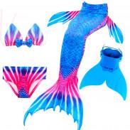 Купальный костюм русалочки Моноласта хвост Breeze