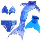 Купальный костюм русалочки Моноласта хвост Ocean