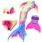 Купальный костюм русалочки Моноласта хвост Reef