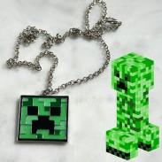 Кулон Minecraft Creeper