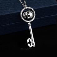 Кулон ключ с черепом Королевы Реджины