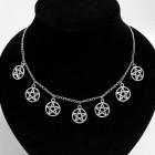 Ожерелье с пентаграммами