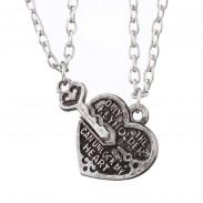 Кулон ключ от сердца
