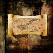 Карта Пиратское Логово Тома Сойера