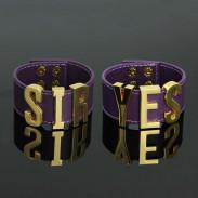 Комплект браслетов Харли Квинн