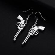 Серьги Револьверы