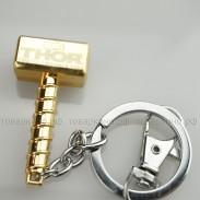 Брелок Молот Тора Золото