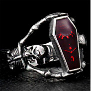 Кольцо с гробом вампира