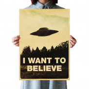Плакат I Want to Believe