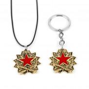 Кулон/Брелок Красная медаль CS:GO