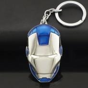 Брелок Железный человек синий