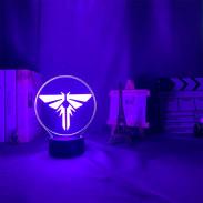3D Лампа Цикад