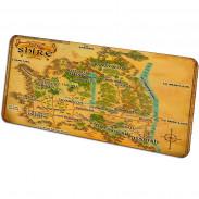 Игровой коврик карта Шира Властелин Колец